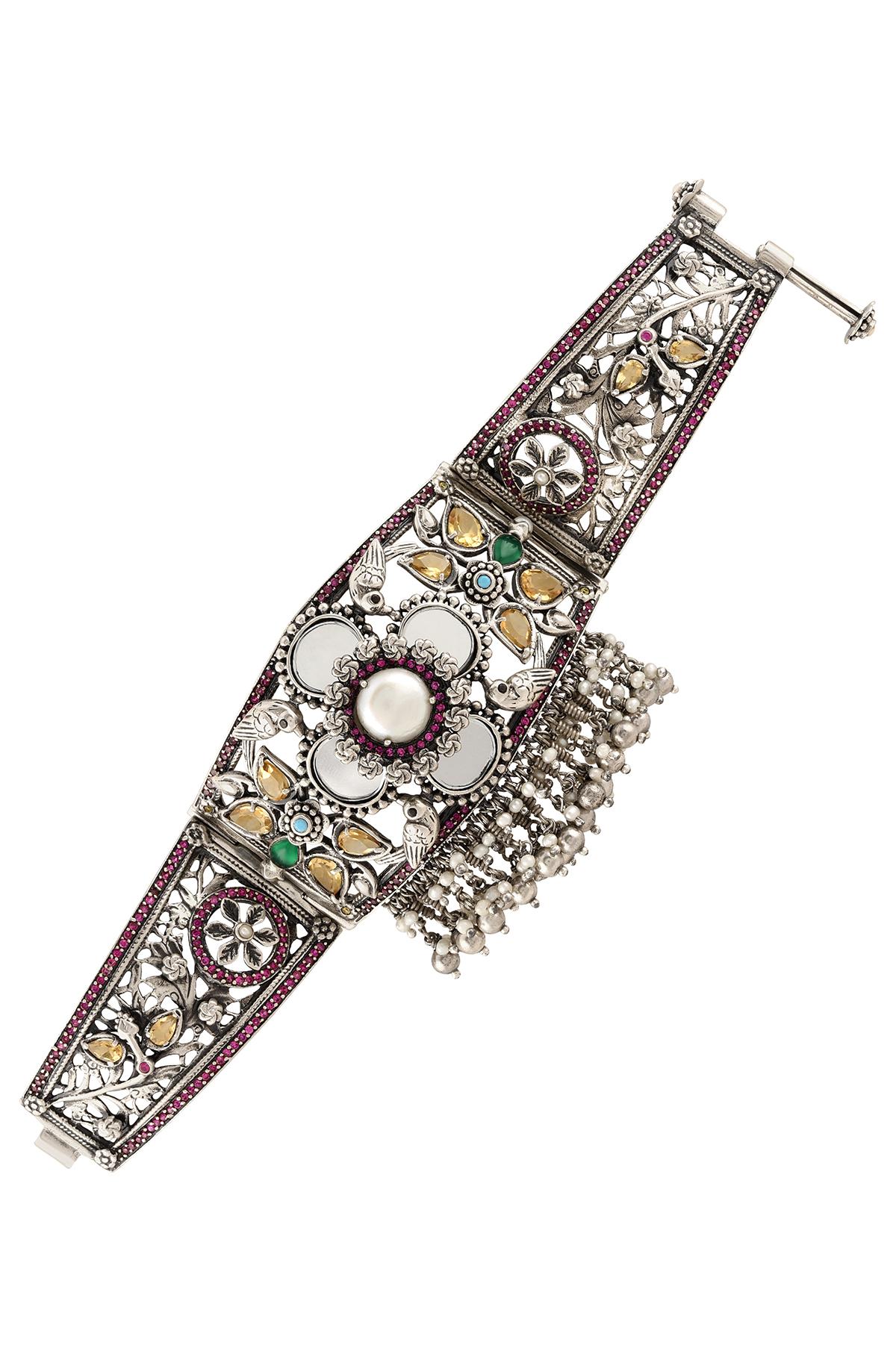 Silver Suryakamal Handcuff